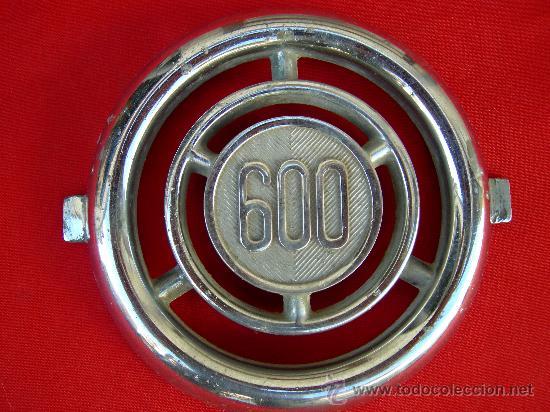EMBLEMA SEAT 600 (Coches y Motocicletas - Repuestos y Piezas (antiguos y clásicos))