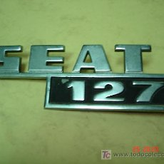 Coches y Motocicletas: EMBLEMA SEAT 127 . Lote 26318682