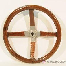 Coches y Motocicletas: VOLANTE DE COCHE EN MADERA Y METAL. AÑOS 1920. Lote 14920409