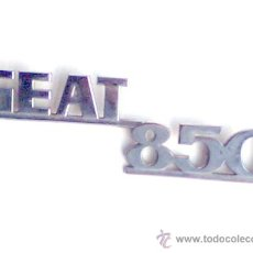 Coches y Motocicletas: LOGOTIPO , LOGO, ANAGRAMA ANTIGUO DEL COCHE SEAT 850. Lote 25933173