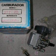 Coches y Motocicletas: CARBURADOR DE MOTOCICLETA VARIANT STAR NUEVO EN CAJA MAS REGALO. Lote 22476574
