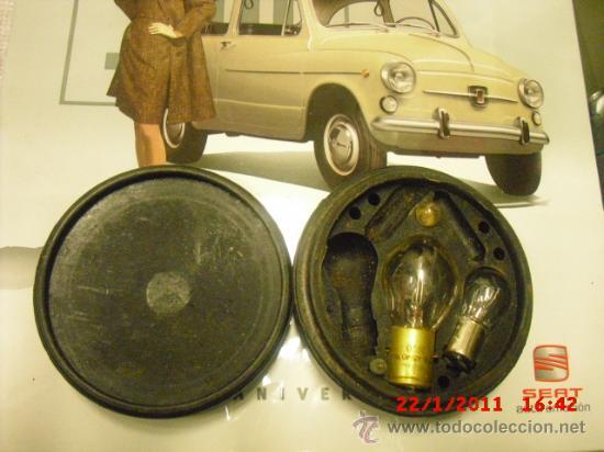Coches y Motocicletas: SEAT 600 - KIT BOMBILLAS Y FUSIBLES DE REPUESTO - Foto 2 - 27427265