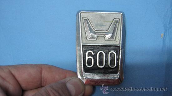 LOGO LOGOTIPO HONDA 600 (Coches y Motocicletas - Repuestos y Piezas (antiguos y clásicos))