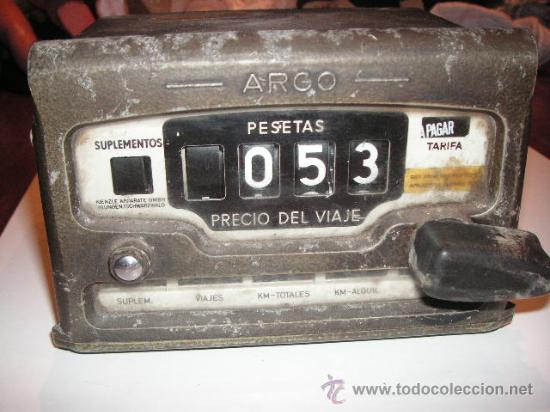 Taximetro antiguo en buen estado barato ver fot - Vendido en Venta ...
