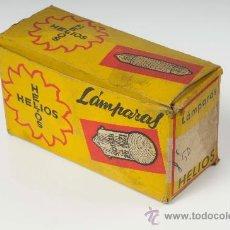 Coches y Motocicletas: CAJA DE BOMBILLAS - LÁMPARAS HELIOS. Lote 29064479