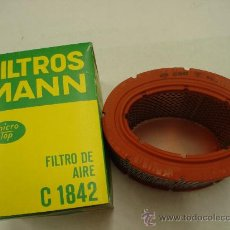 Coches y Motocicletas: FILTRO AIRE MANN C1842 PARA CITROËN GS/GSA. Lote 29962073