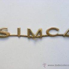 Coches y Motocicletas: LOGOTIPO VEHICULO SIMCA . Lote 30692606