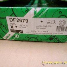 Coches y Motocicletas: DISCOS FRENO LUCAS, PARA HONDA ACCORD IV,V Y VI. Lote 30726707