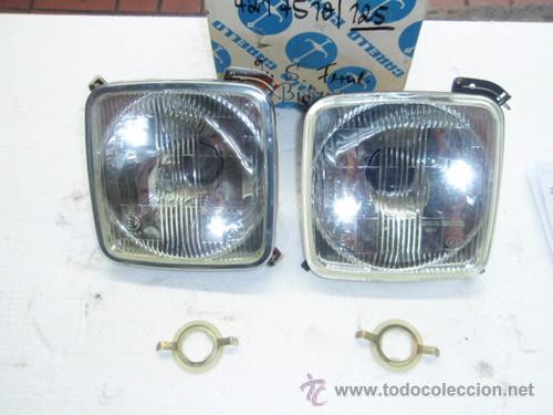 SEAT 1430 FIAT 125: OPTICAS INTERIORES CARELLO, NUEVAS A ESTRENAR. (Coches y Motocicletas - Repuestos y Piezas (antiguos y clásicos))