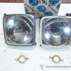 Coches y Motocicletas: SEAT 1430 FIAT 125: OPTICAS INTERIORES CARELLO, NUEVAS A ESTRENAR.. Lote 31208242