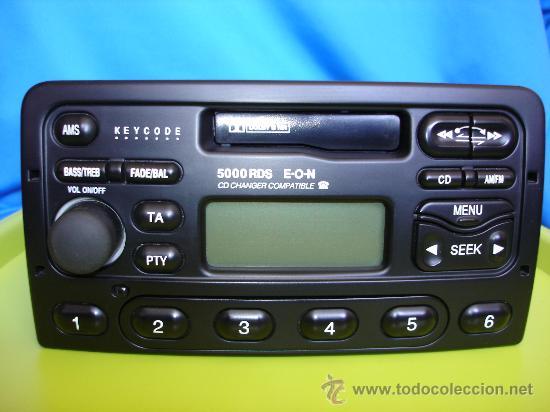 radio cassette ford 5000 rds eon con c digo d comprar repuestos rh todocoleccion net manuel radio ford focus ford focus audio system manual