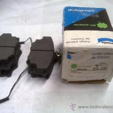 Coches y Motocicletas: PASTILLAS DE FRENO LANCIA DELTA Y PRISMA. Lote 31545462