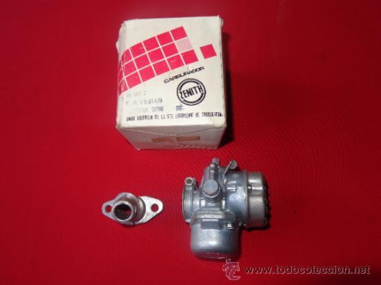 Carburador Zenith 15 Mx Con Tobera Aluminio Par Comprar
