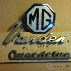 Coches y Motocicletas: ANAGRAMAS MG. Lote 33680571