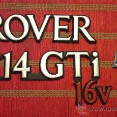 Coches y Motocicletas: ANAGRAMAS DE ROVER 114 . Lote 33841229