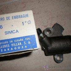 Coches y Motocicletas: CILINDRO EMBRAGUE SIMCA,NUEVO. Lote 34462575