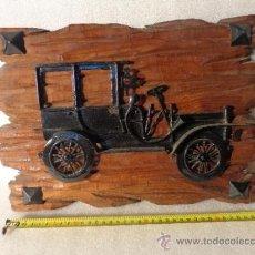 Coches y Motocicletas: COCHE ANTIGUO TIPO FORD T, EN METAL. CUADRO.. Lote 34966122