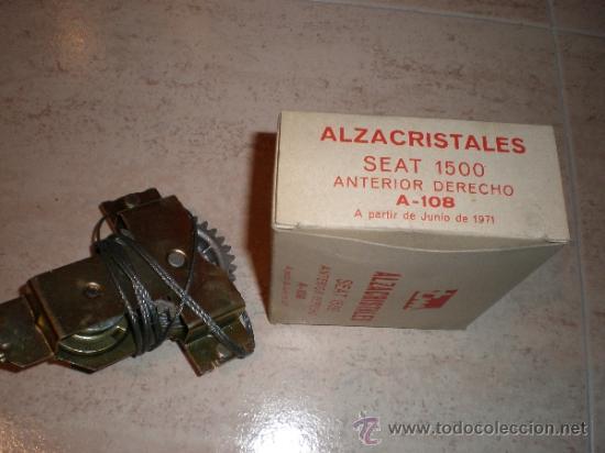 SEAT 1500,ALZACRISTALES ANTERIOR DERECHO,NUEVO (Coches y Motocicletas - Repuestos y Piezas (antiguos y clásicos))