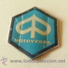 Coches y Motocicletas: CHAPA O PLACA DE VESPA MOTOVESPA - DE ALUMINIO. Lote 36509950
