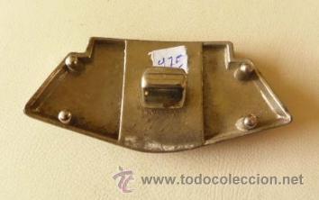 Coches y Motocicletas: chapa o placa del vehiculo serveta - Foto 2 - 36510214