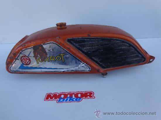 DEPOSITO TORROT MARRON. (Coches y Motocicletas - Repuestos y Piezas (antiguos y clásicos))