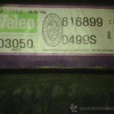 Coches y Motocicletas: DISCO EMBRAGUE VALEO 803050 CITROËN BX 1.7TD. Lote 37511521
