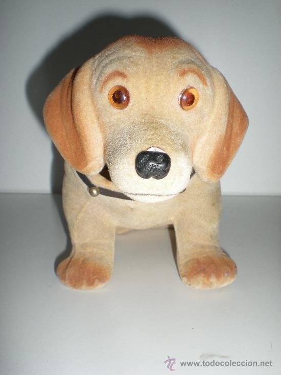 Coches y Motocicletas: antiguo perrito cabeza basculante oscilante para bandeja trasera del coche clásico - Foto 2 - 234922045
