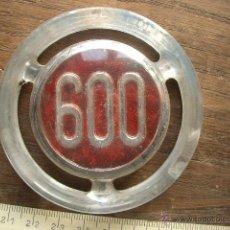 Coches y Motocicletas: CHAPA PLÁSTICO DURO DE 600. Lote 40560929