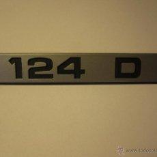 Coches y Motocicletas: ANAGRAMA SEAT 124 D. Lote 40940451