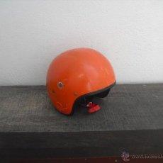 Coches y Motocicletas: ANTIGUO CASCO DE MOTO DE LOS AÑOS 60 O 70. MOTOCICLETA.. Lote 41075490