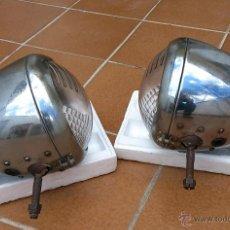 Coches y Motocicletas: 2 FAROS CROMADOS CITROEN C11 LIGERO - RESTAURAR. Lote 41280947