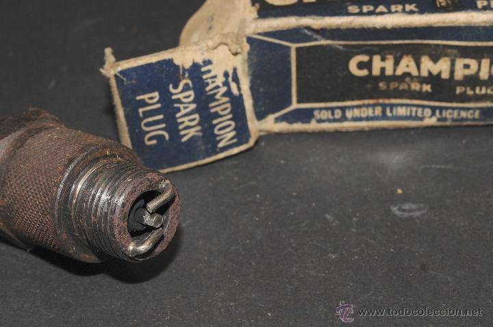 Coches y Motocicletas: BUJIA CHAMPION SPARK PLUG 7-CON-D CON SU CAJA ORIGINAL - Foto 2 - 41305888