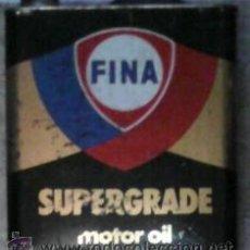 Coches y Motocicletas: LATA DE ACEITE FINA, SUPERGRANDE MOTOR OIL. Lote 41376100