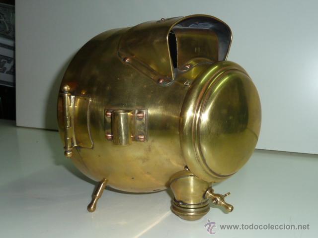 Coches y Motocicletas: Antiguo faro de coche de gas acetileno,(carburo) Lucidus - Foto 5 - 40815684