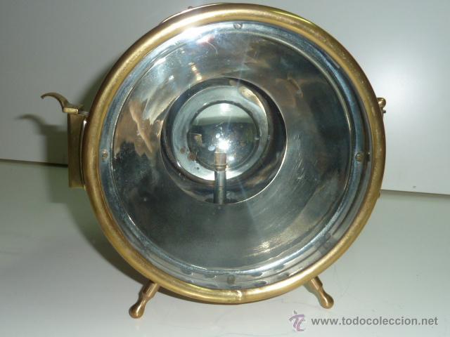 Coches y Motocicletas: Antiguo faro de coche de gas acetileno,(carburo) Lucidus - Foto 7 - 40815684
