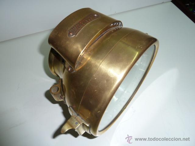 Coches y Motocicletas: Antiguo faro de coche de gas acetileno,(carburo) Lucidus - Foto 9 - 40815684