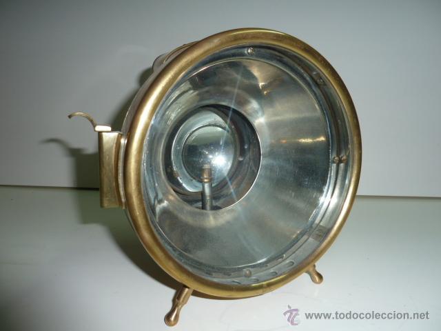 Coches y Motocicletas: Antiguo faro de coche de gas acetileno,(carburo) Lucidus - Foto 10 - 40815684