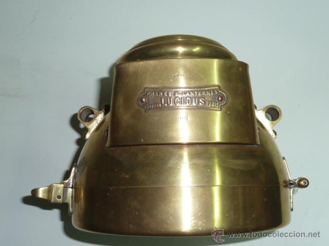 Coches y Motocicletas: Antiguo faro de coche de gas acetileno,(carburo) Lucidus - Foto 11 - 40815684
