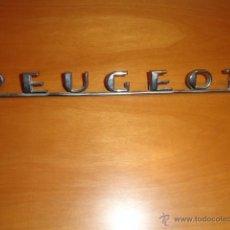 Coches y Motocicletas: ANAGRAMA PARA COCHE PEUGEOT. Lote 42000679