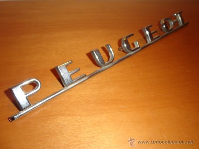 Coches y Motocicletas: ANAGRAMA PARA COCHE PEUGEOT - Foto 3 - 42000679