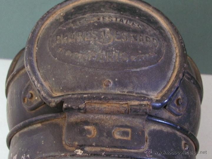 Coches y Motocicletas: antiguo faro frances de coche: phares besnard ´ les vestales ´ , paris (19x15x12cm aprox) - Foto 6 - 42138247