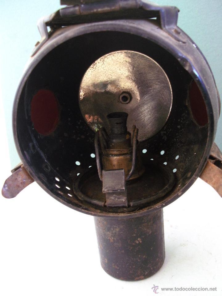 Coches y Motocicletas: antiguo faro frances de coche: phares besnard ´ les vestales ´ , paris (19x15x12cm aprox) - Foto 7 - 42138247