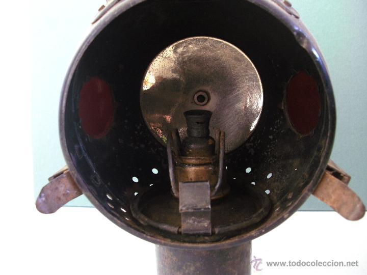 Coches y Motocicletas: antiguo faro frances de coche: phares besnard ´ les vestales ´ , paris (19x15x12cm aprox) - Foto 9 - 42138247