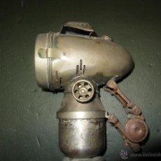 Coches y Motocicletas: FARO DE CARBURO MARCA ORION EPOCA 1900 A 1930. Lote 42161078