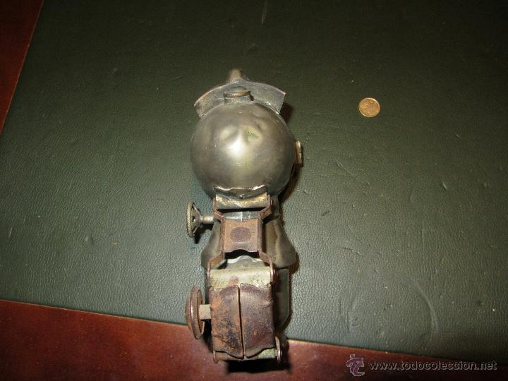 Coches y Motocicletas: FARO DE CARBURO MARCA ORION EPOCA 1900 A 1930 - Foto 2 - 42161078