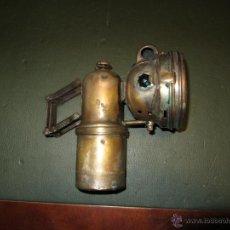 Coches y Motocicletas: FARO DE CARBURO MARCA LUXOR EPOCA 1900 A 1930. Lote 42162250