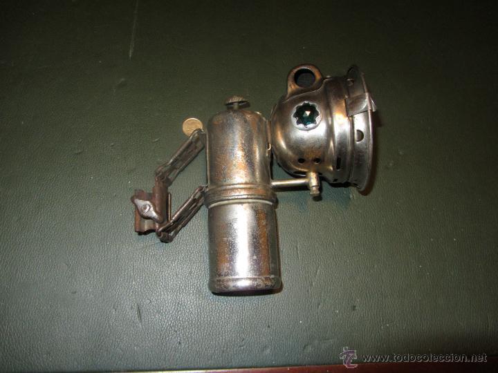 FARO DE CARBURO MARCA ETOILE EPOCA 1900 A 1930. (Coches y Motocicletas - Repuestos y Piezas (antiguos y clásicos))