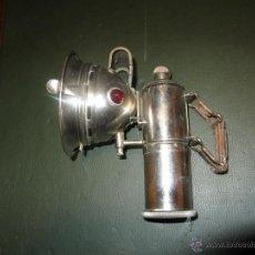 Coches y Motocicletas: FARO DE CARBURO MARCA CICCA EPOCA 1900 A 1930. Lote 42167739