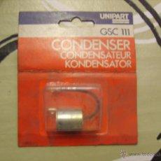 Coches y Motocicletas: UNIPART GSC111 - CONDENSADOR (FORD / JAGUAR / AUSTIN / ROVER / LAND ROVER...). Lote 42215163
