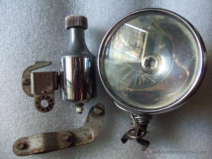 ANTIGUO FAROL Y DINAMO MILLER DE BICICLETA - (Coches y Motocicletas - Repuestos y Piezas (antiguos y clásicos))